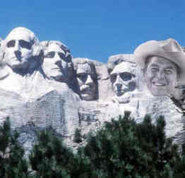 Ronald Reagan Mount Rushmore